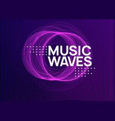 Dj event neon flyer techno trance party electro vector