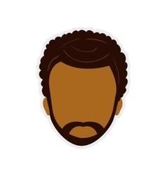 Man male head avatar person icon graphic vector