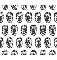 roar pattern vector image