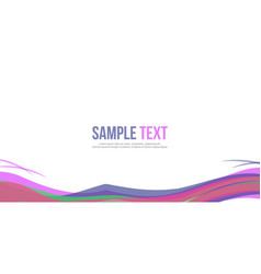 Website header style abstract background vector
