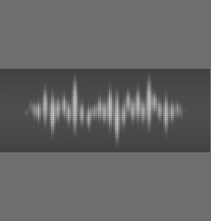 white halftone pattern audio waveform modern vector image