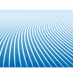 blue curves vector image
