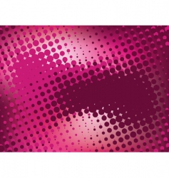 pink abstract background with halftone vector image vector image
