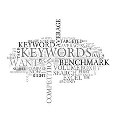 Adwords keyword research for beginners text word vector
