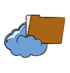 documents folder icon image vector image