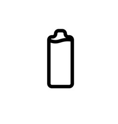 full battery icon vector image