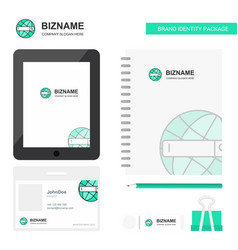 internet search business logo tab app diary pvc vector image