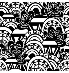 pattern abstract elements vector image