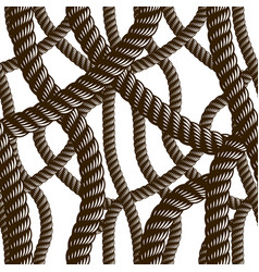 Rope seamless pattern trendy wallpaper background vector