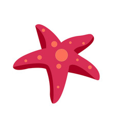 sea star icon on white background for graphic and vector image