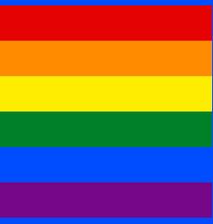 Seamless pattern ribbon rainbow flag lgbt movement vector
