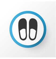 Slipper icon symbol premium quality isolated home vector