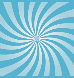 swirling blue sunburst pattern vector image