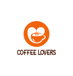 t shirt design with coffee lovers message vector image