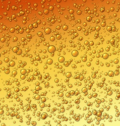 Water Drops on Orange Surface vector image