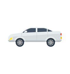 modern sedan isolated icon vector image vector image