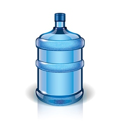 object big bottle vector image