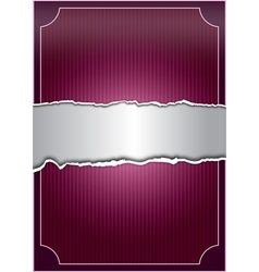 Creative purple background vector