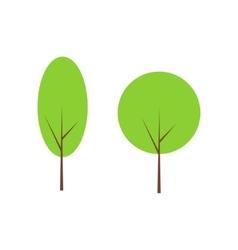 Tree clip art vector image vector image