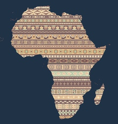 african elements vector image