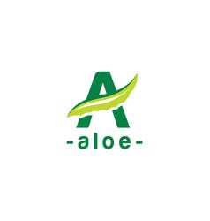 Aloevera logo vector