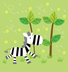 Little Zebra vector