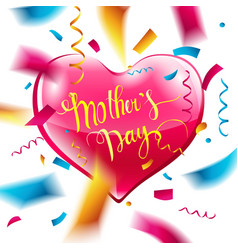 mothers day design layout vector image