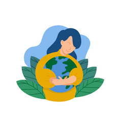 save-earth4 vector image