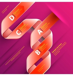 Web template vector image