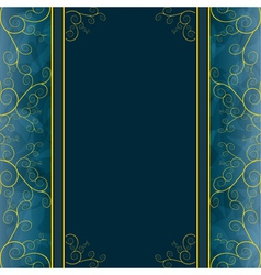 Vintage background for greeting or invitation card vector image vector image