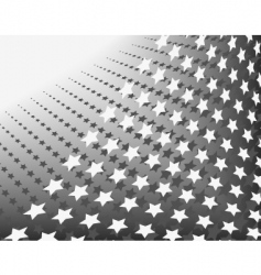 stars in stripes vector image vector image