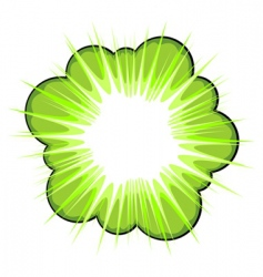 graphic flower vector image vector image
