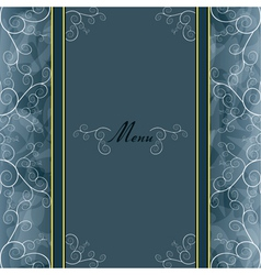 Vintage background for invitation or greeting card vector image