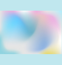 abstract colorful soft wavy gradient pastel vector image