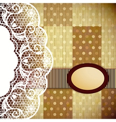 Abstract Retro Background vector image