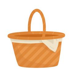 Basket and wicker logo vector
