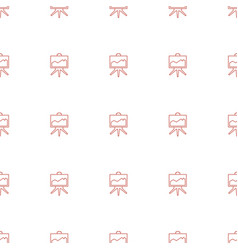 board icon pattern seamless white background vector image