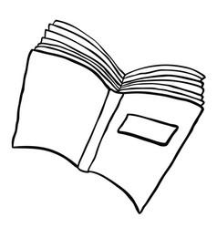 Book black vector