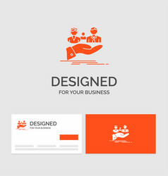 Business logo template for insurance health vector