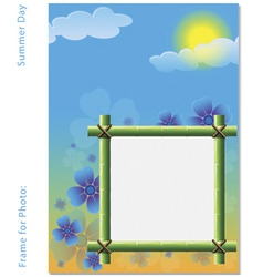 Frame for photo vector