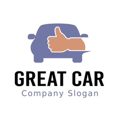 Great Car Design vector image