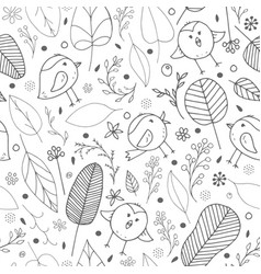 seamless background for kids room vector image
