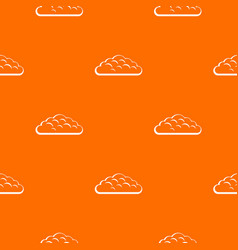 spring cloud pattern seamless vector image