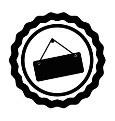 Store label hanging icon vector