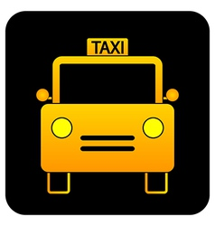 Taxi button vector