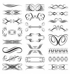 elements design vector image vector image