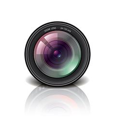 Object camera lens vector