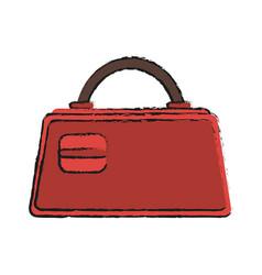 purse bag icon image vector image