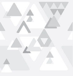 Abstract greyscale seamless geometrical vector