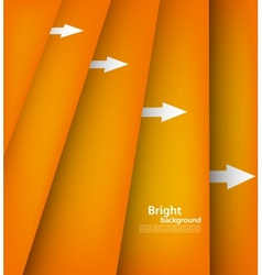 Background with orange lines vector